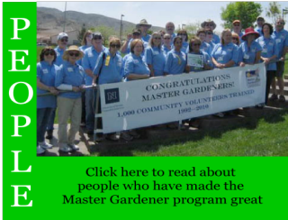 Link to stories about people who made the Master Gardener program great